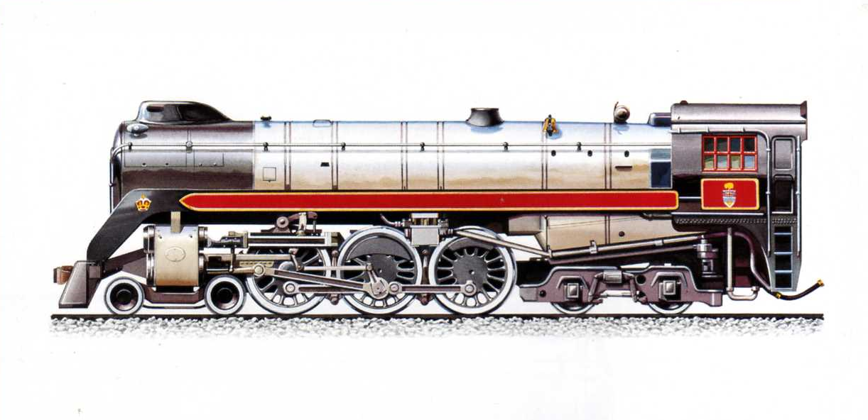 Locomotiva Royal Hudson tip 2-3-2