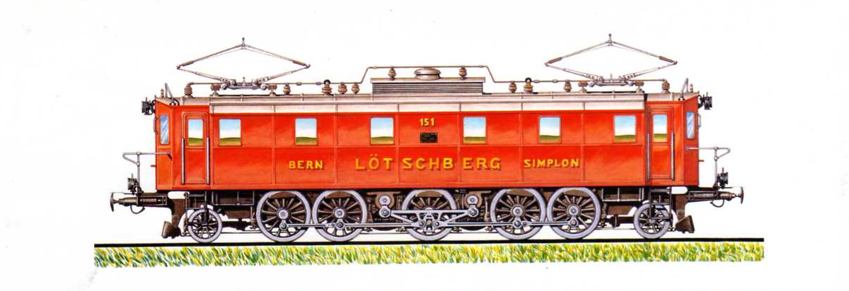 Locomotiva electrica BE 5/7 1-E-1